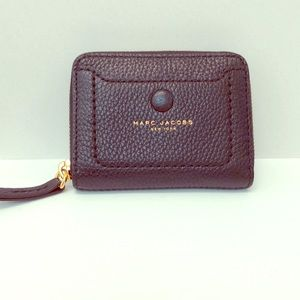 Marc Jacobs Empire City Leather ZIP Around Wallet